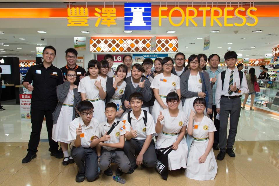 學生與豐澤導師的合照