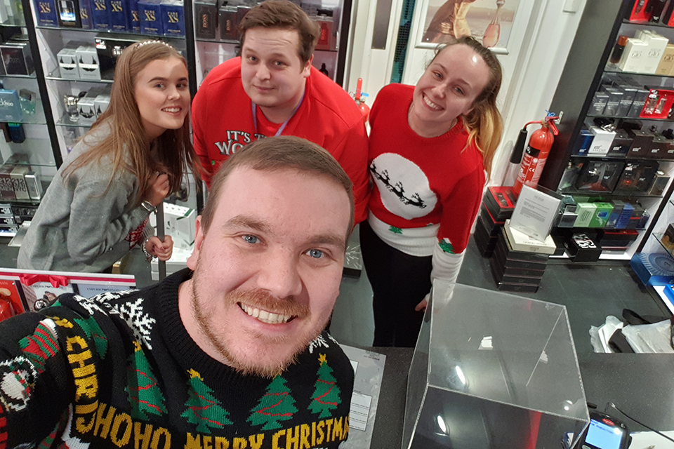 13 Christmas Jumper Day picture